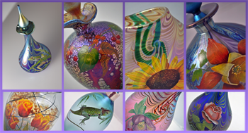 Terri Colledge TLC Enamelling Glass Work